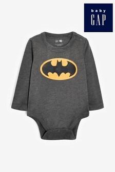 Gap Baby Batman® Long Sleeve Bodysuit