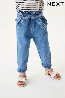 附腰帶易穿脫牛仔褲 (3個月至7歲)