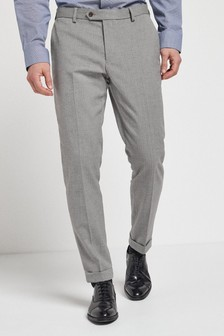Herringbone Suit: Trousers