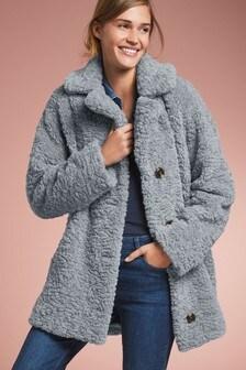 Kožušinový kabát
