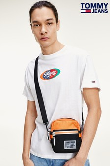 Tommy Jeans Oval T-Shirt, weiß