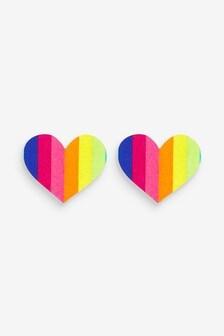 Acoperitori adezive pentru sfârcuri în formă de inimă