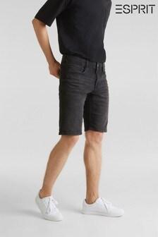 Esprit Jeansshorts, schwarz