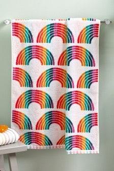 Полотенце с радугами