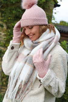 Check Blanket Scarf