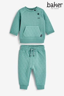 Baker by Ted Baker Boys Quilted Two Piece Set