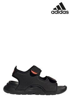 adidas Black Swim Sandals