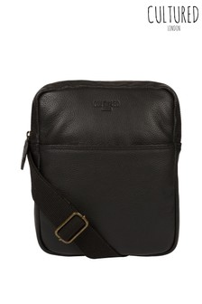 Cultured London Fargo Leather Cross Body Bag