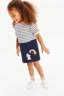 Harbour Kleid mit Regenbogendesign (3Monate bis 7Jahre)