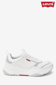 נעלי ספורט צ'אנקי של Levi's® בלבן
