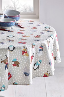 Wipe Clean Table Cloth With Linen (289321) | $35 - $49