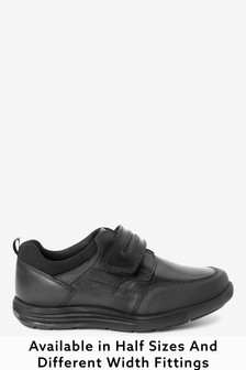 Leather Single Strap Shoes