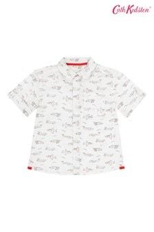 Cath Kidston® Cream Mini Planes Oversized Shirt