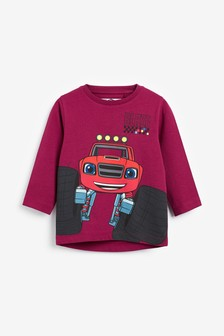 Blaze Long Sleeve Jersey T-Shirt (9mths-8yrs)