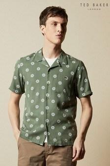 Camisa con estampado floral geométrico Raingo de Ted Baker