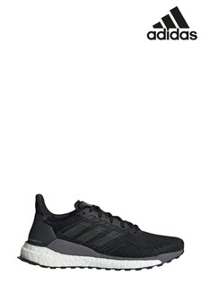 Черные кроссовки adidas SolarBoost