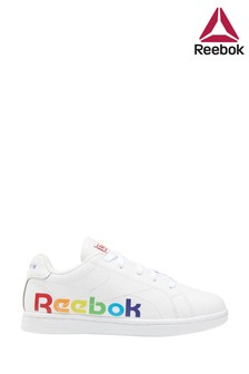 Reebok White Rainbow Royal Complete Junior & Youth Trainers