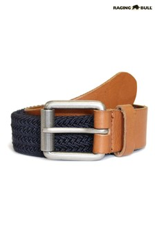 Raging Bull Blue Braided Belt