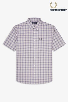 Fred Perry Short Sleeve Small Check Shirt