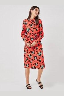 Приталенное платье-рубашка