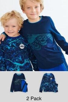 2 Pack Pyjamas (3-16yrs)
