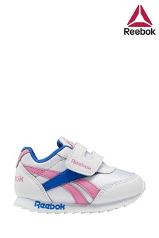 Reebok Silver/Pink Royal Infant Trainers