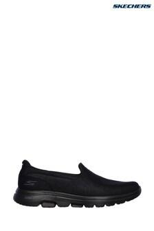 Skechers® zwarte Go Walk 5 Sensational sneakers