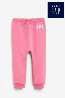 Розовыеспортивные брюки с логотипом Gap