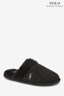 Polo Ralph Lauren Womens Scuff Suede Slippers