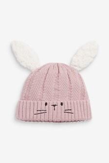 Bunny Knit Hat (0mths-2yrs)