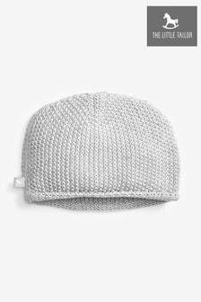 כובע סרוג לתינוקות בצבע אפור של The Little Tailor