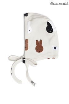 Tobias & The Bear Birch Grey Miffy & Friends Bonnet