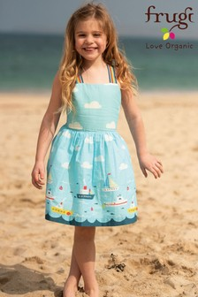 Frugi GOTS Organic Reversible Printed Dress