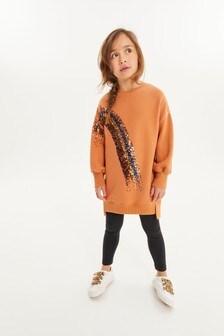 Платье-джемпер (3-16 лет)