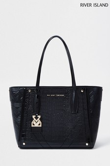River Island Black Shopper Bag