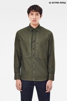 G-Star Panelled Pocket Slim Shirt
