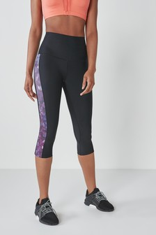 Figurformende Capri-Sportleggings