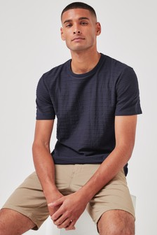 Texture Stripe T-Shirt