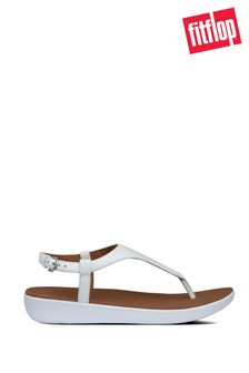FitFlop™ White Lainey Toe Post Sandals