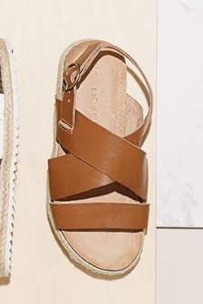 Woven Leather Sandals (Older)