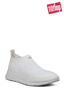 FitFlop™ White Erin Mesh Low Top Sneakers