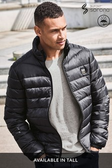 Shower Resistant Funnel Neck Puffer Jacket With Dupont Sorona® Insulation (291486) | $66