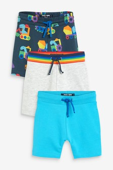 3 Pack Jersey Shorts (3mths-7yrs)