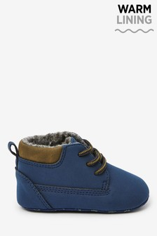 Lace-Up Pram Boots (0-24mths)