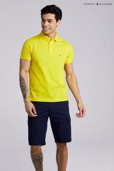 Tommy Hilfiger Yellow 1985 Slim Polo