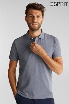 Esprit Blue Short Sleeved Polo