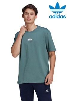 Футболка с 3D-логотипом adidas Originals