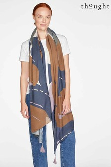 Thought Blue Leila Sarong Scarf