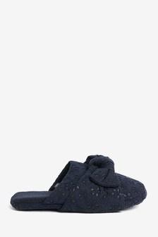 Тапочки с вышивкой