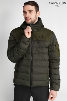 Calvin Klein Golf Green Lassen Padded Jacket